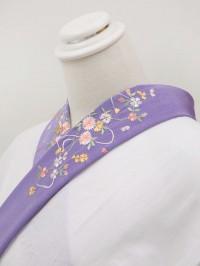 うす紫系・刺繍襟