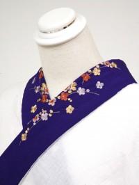 紫系・刺繍衿