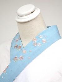 青系・刺繍衿