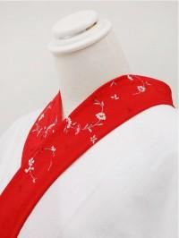 赤系・刺繍衿